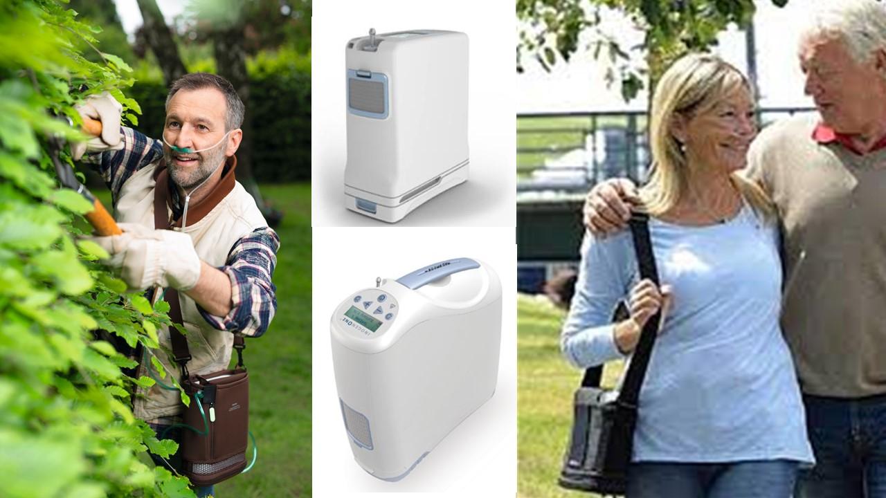 Tragbare Sauerstoffkonzentratoren