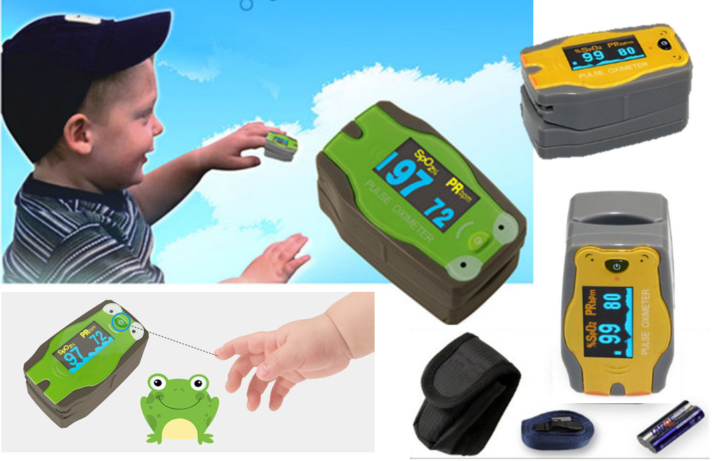 Fingerpulsoximeter für Kinder
