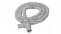 CPAP-Schlauch grau 1,8 m mit Manschette 22 mm