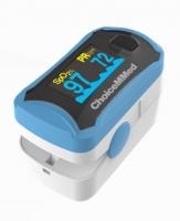 Fingerpulsoximeter MD 300 C29 mit OLED-Anzeige in blau weiss von Choicemmed Pulsoximeter