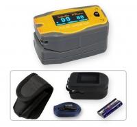 Kinder Fingerpulsoximeter MD300 C52 *Bär* mit OLED-Anzeige und Zubehör OxyWatch