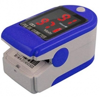 Fingerpulsoximeter OXHC 50 DL mit LED Display incl. Batterien/Tasche/Silikonhülle/Trageband