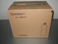 B.Braun Sterilwasser Spüllösung 6 x 1L Ecotainer® (Karton mit 6 x 1000 ml)