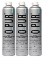 O-PUR Sauerstoff Set 3 x 8 Liter Dose als Ersatzset mit Anschluss für Sauerstoffmaske